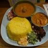 カレーや デッカオ - 料理写真:本日の全種類カレー、イカ