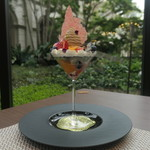85342739 - 愛知県産いちごと                                               柑橘香るアールグレイのフルーツパフェ