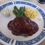 ステーキハウス 三喜屋 - 料理写真:ハンバーグ ケチャップ味