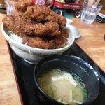わァ食キッチンEAT - ソースカツ丼肉大盛り