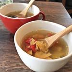 サルサ ヴェルデ - ランチのスープ