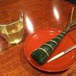 85344267 - 粽と水出し玄米茶