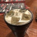 びっくりや - 乾杯は梅酒ソーダ割りに★