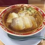 らーめん秋田 ひない軒 - チャーシュー麺大盛り