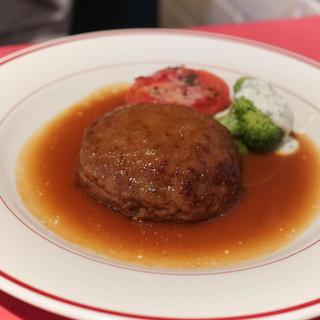 南欧料理 アンジュ - 料理写真:ねらないハンバーグ