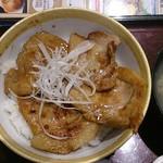 和食レストランとんでん - 北海道豚丼 四枚