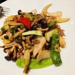 中国酒家黒猫軒 - お肉と野菜炒め