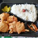 カラアゲと弁当の元気 - 料理写真:唐揚げ弁当 550円