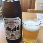 いたこ丸 - ビンビール600円