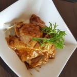 ユミズ ヤム ヤム - メインの豚肉の味噌炒め