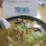 彩華 - ゴマタンメン味噌風味 950円