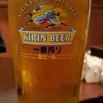 クアアイナ 丸ビル店 - 生ビール
