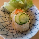 とんかつ燕楽 - ポテトサラダ