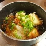 魚と天ぷらの居酒屋 まるさや - 揚げ出し豆腐