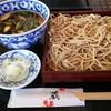 Teuchisobakura - 料理写真:鴨せいろ