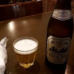 中華料理 餃子館 - 瓶ビール