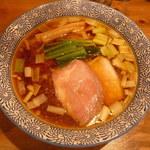 麺処 ぐり虎 - 醤油中華蕎麦700円