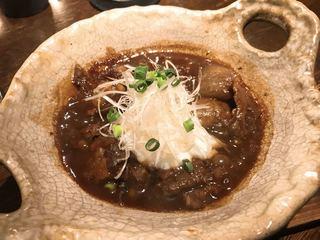"""串房酔"""" - 牛スジの味噌煮込み 白米が欲しい!"""