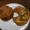 ブーランジェリークルミ - 料理写真:セミドライトマトとフレッシュバジル、オリーブ