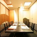 舟寿し - 【花】7~8名の様テーブル席