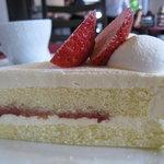 8537618 - レアチーズケーキとコーヒー350円