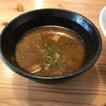 らーめん いつ樹 - 海老つけ麺スープ