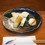 灯里 - 料理写真:おとおし  350円