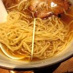 麺やひだまり - 細麺の細さ