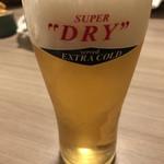 85374321 - 生ビール(アサヒエクストラコールド)