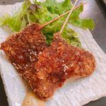 九州料理×もつ鍋専門店 木村屋本店 - レバカツ