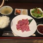 焼肉 龍 - 和牛焼肉ランチ税込980円