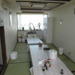 山崎旅館 - 1階の食堂