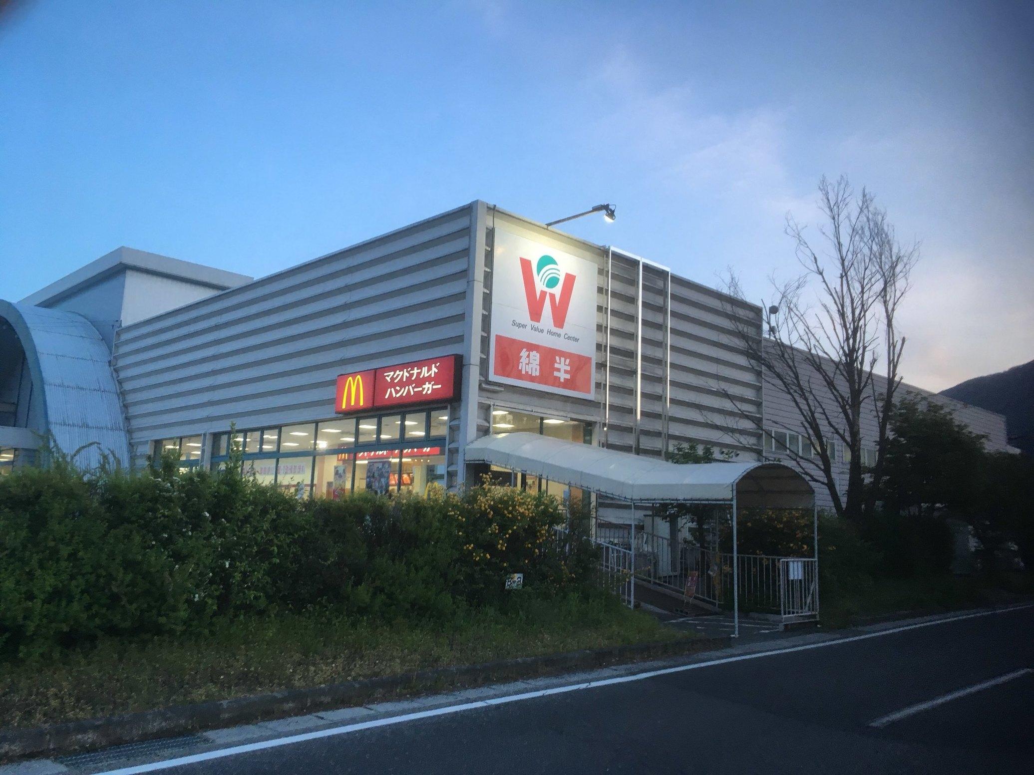 マクドナルド ザ・ビッグ穂高店 name=