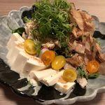 85378878 - 蒸し鶏と豆腐のサラダ