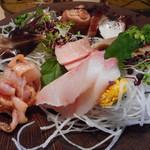 竹はる - 料理写真:刺身盛り合せ