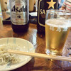 福島屋 - 料理写真:ビール&お通しの釜揚げしらす