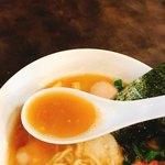 麺や 麗 - スープ