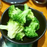 まるう商店 - 横須賀 ブロッコリー茹であげ ¥500