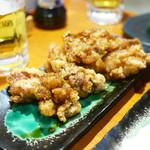 まるう商店 - 鶏唐揚げの黒胡椒 ¥680
