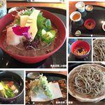 紗羅餐 本店 - 春膳と10割蕎麦。紗羅餐本店(名古屋市)食彩品館.jp撮影
