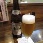 85382151 - 瓶ビール(中瓶) 600円 (2018.4)