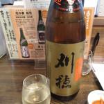 酒菜や 醍 - 秋田 刈穂 冷酒