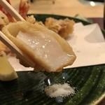 十割蕎麦  馥 - 貝柱の天ぷら