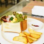 マオcafe - 料理写真:サンドイッチ