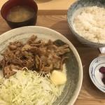 勝めし屋 - 2018/5/5 ランチで利用。 じゃんじゃん定食(680円)