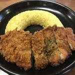 つぼやきカレー キートン - 料理写真:チキンカツカレー