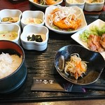 隠れ菴忍家 - 肉も魚も得々定食