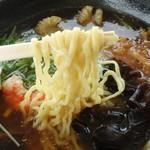 沖海月 - クラゲラーメン750円