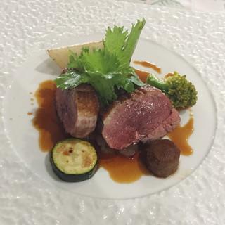 フランス食堂 シェ・モア - 料理写真:鴨ロースのポアレ