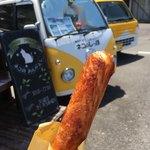 ラウンド ガーデン ネコのおんがえし - 料理写真:1番人気 シュガー味のチー子ちゃん  ¥100